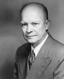 United States (34th) president Dwight David Eisenhower photo portrait