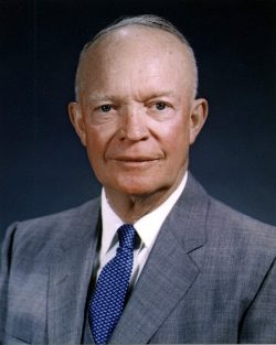 President Dwight D. (Ike) Eisenhower official portrait.