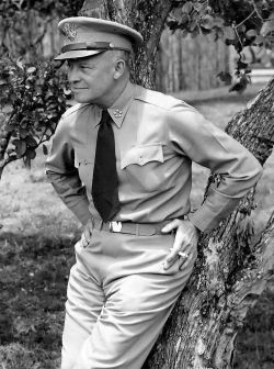 General Dwight D. (Ike) Eisenhower as General of the Army. Photograph courtesy of US Army Signal Corps.