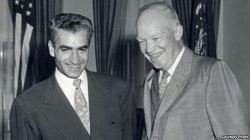President Dwight D. (Ike) Eisenhower meets with Iran's Shah, Mohammad Reza Shah Pahlavi.