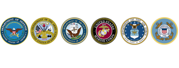 United States Armed Forces Logos 2016