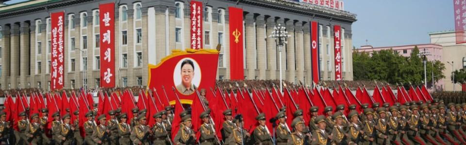North Korea military parade. Image courtesy of CNN com